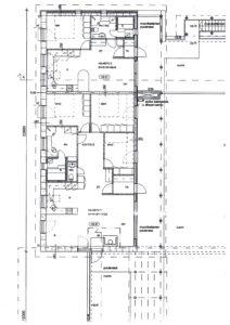 asuntojen pohjapiirros